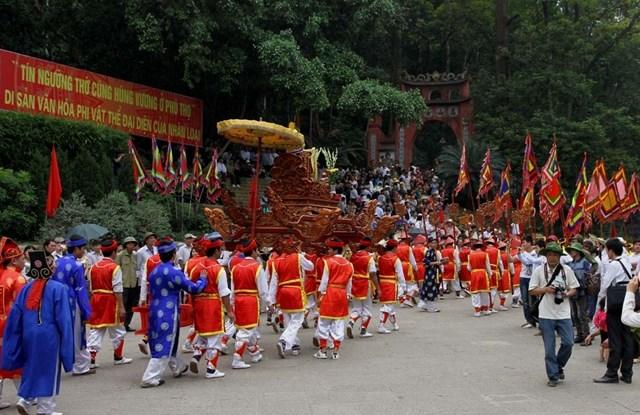 Giỗ tổ Hùng Vương năm 2021 chỉ tổ chức phần lễ - Ảnh 1