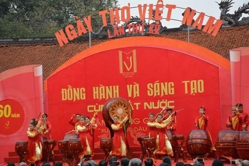 Ngày Thơ Việt Nam được tổ chức thường niên trong những năm gần đây.