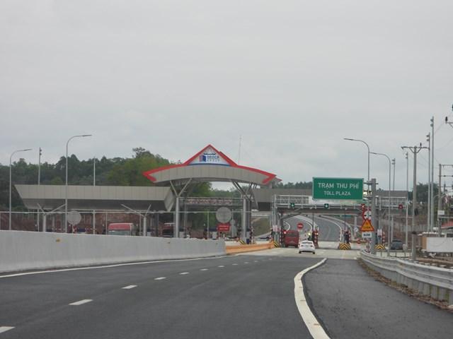Trạm thu phí dự án Cao tốc Bắc Giang- Lạng Sơn do Công ty cổ phần BOT Bắc Giang- Lạng Sơn làm chủ đầu tư.