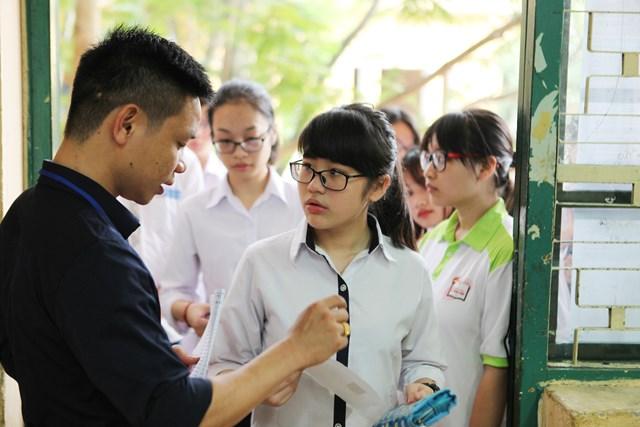 Thí sinh dự tuyển lớp 10 THPT tại Hà Nội, năm học 2019-2020,