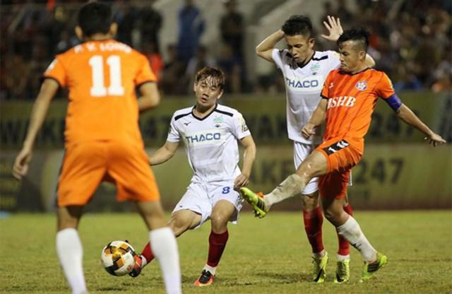 Cuộc đọ sức phân định ngôi đầu giữa SHB Đà Nẵng và HAGL sẽ là tâm điểm vòng đấu này.