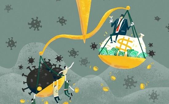 Covid-19 càng làm gia tăng khoảng cách giàu nghèo.