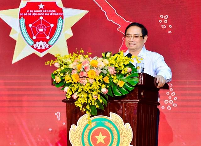 Thủ tướng Chính phủ Phạm Minh Chính phát biểu tại hội nghị. Ảnh: VGP/Nhật Bắc.