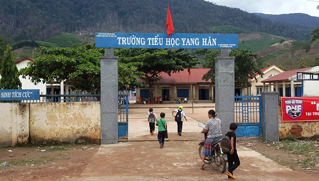 Dạy và học ở Krông Bông