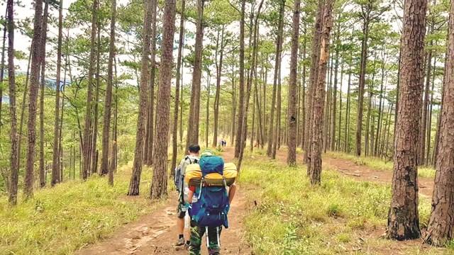 Hành trình tới đỉnh Bidoup - Núi Bà.