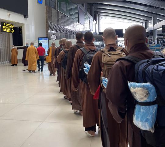 Tăng, Ni, Phật tử tình nguyện chống dịch