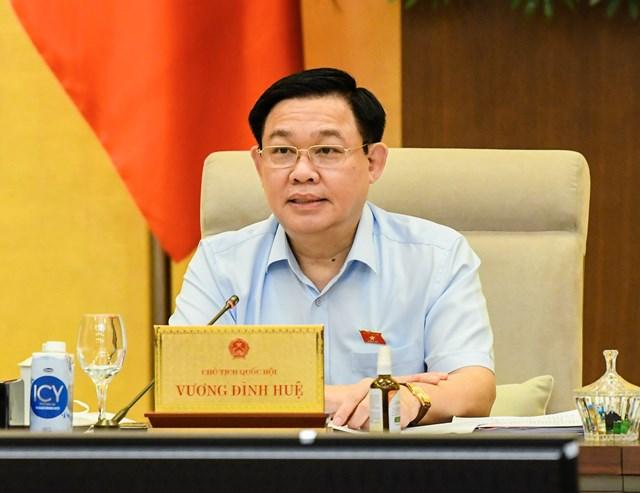 Chủ tịch Quốc hội Vương Đình Huệ: Sẽ kiểm toán việc phân bổ và sử dụng các nguồn lực phòng, chống dịch Covid-19