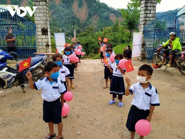 Năm học đặc biệt ở miền núi Quảng Nam