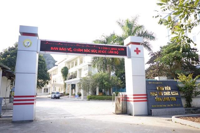 Bệnh viện Phục hồi chức năng tỉnh Lạng Sơn: Chỉ định thầu sai quy định