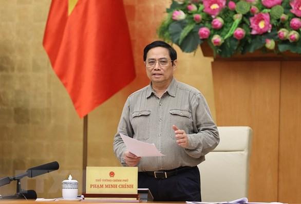Thủ tướng Phạm Minh Chính: Linh hoạt ứng phó, thích ứng với dịch bệnh