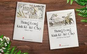 """Bộ sách """"Thăng Long Kinh Kì - Kẻ Chợ""""."""