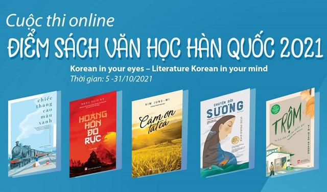Điểm sách văn học Hàn Quốc 2021