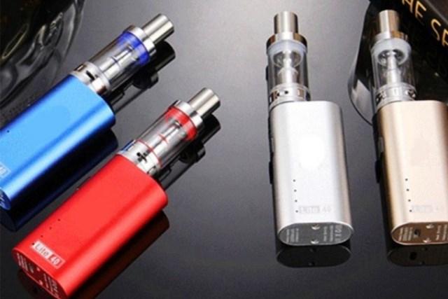 Nguy cơ đến từ thuốc lá điện tử - Ảnh 1
