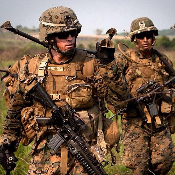 Nhật Bản - Mỹ tập trận quy mô lớn - Ảnh 1