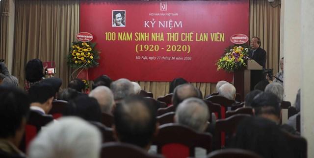Kỷ niệm 100 năm ngày sinh nhà thơ Chế Lan Viên - Ảnh 1