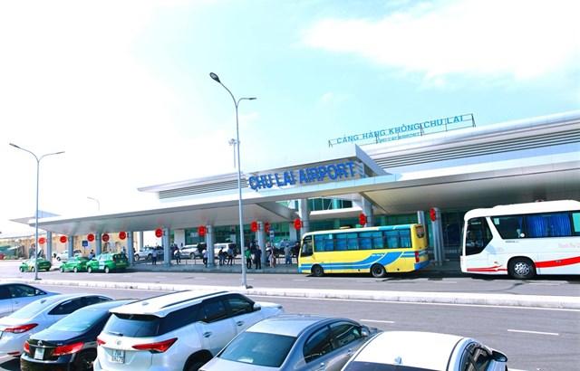 Cảng hàng không Chu Lai, tỉnh Quảng Nam. (Nguồn ảnh: ACV).