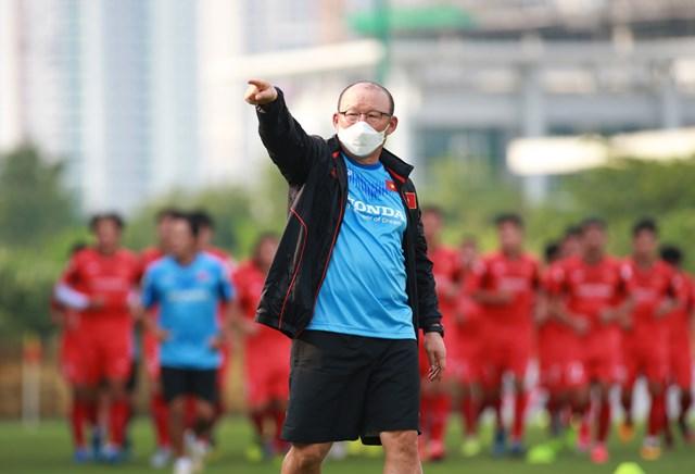 HLV Park Hang Seo triệu tập 33 cầu thủ U22 Việt Nam.