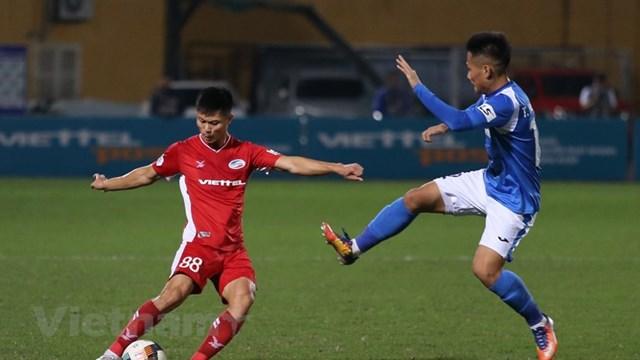 Viettel xứng đáng vô địch V-League 2020. (Ảnh: Hiển Nguyễn/Vietnam+).