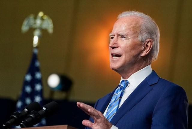 Ứng viên Joe Biden đang rộng đường chiến thắng. (Nguồn: AFP).