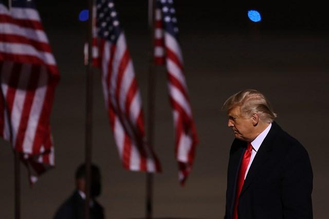 Đương kim Tổng thống Mỹ Donald Trump vẫn chưa tuyên bố thất bại.