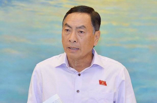Ông Phạm Văn Hòa - ĐBQH tỉnh Đồng Tháp.