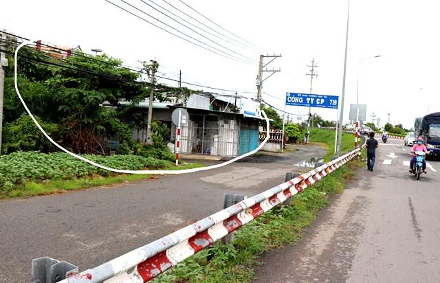 2 hộ dân xây dựng trái phép ảnh hưởng đến việc thuê đất của Công ty 719.