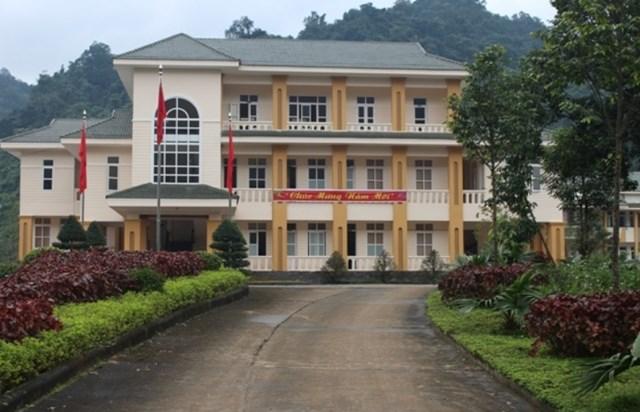 Trụ sở Ban Quản lý Vườn Quốc gia Phong Nha - Kẻ Bàng.
