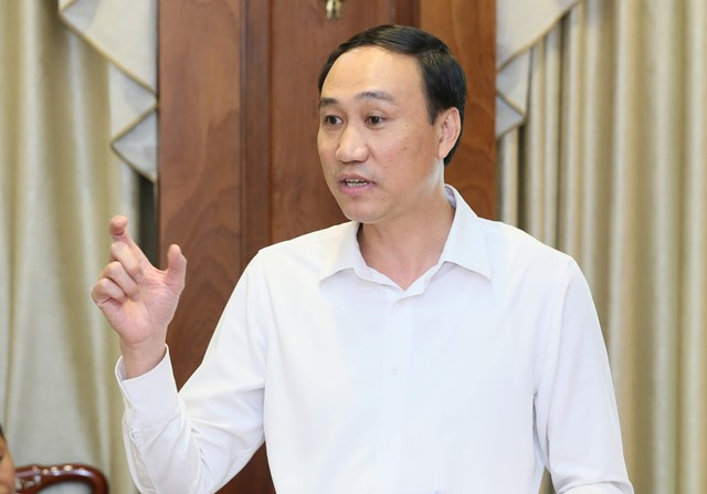 Phó Chủ tịch UBTƯ MTTQ Việt Nam Phùng Khánh Tài.