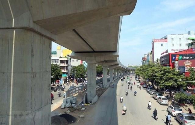 Dự án đường sắt đô thị Nhổn - ga Hà Nội chậm tiến độ, bộc lộ nhiều sai phạm.