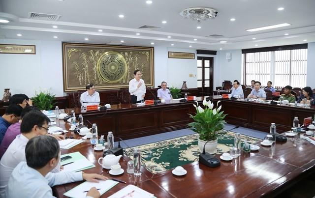 BẢN TIN MẶT TRẬN: Chủ tịch Trần Thanh Mẫn làm việc với Thường trực Tỉnh ủy Bạc Liêu - Ảnh 1
