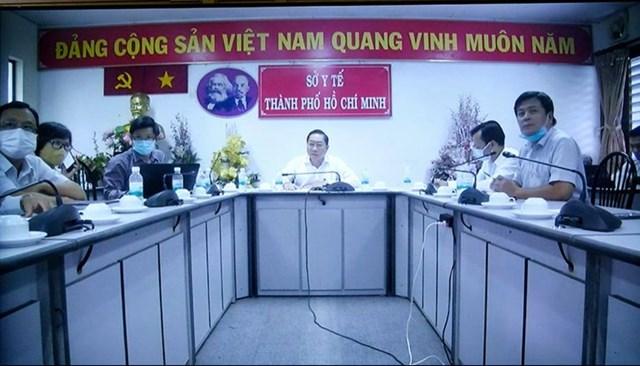 Đầu cầu Sở Y tế TP HCM.
