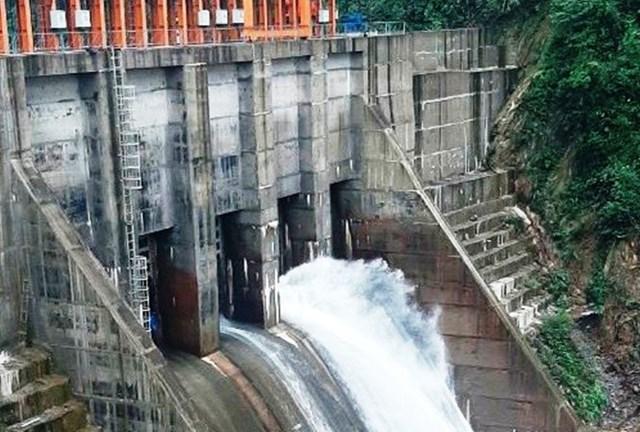 Nhà máy thủy điện Thượng Nhật.