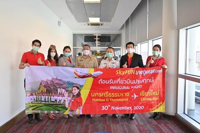 Vietjet Thái Lan khai trương đường bay mới đến Chiang Mai - Ảnh 1