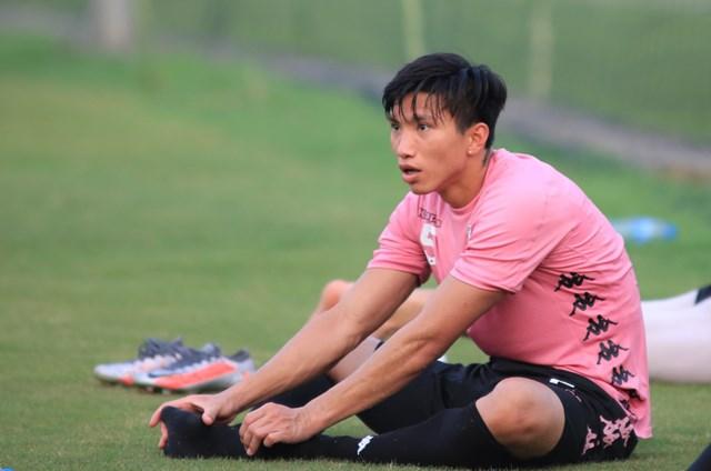 Cầu thủ Đoàn Văn Hậu.