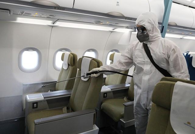 Ngành hàng không thiệt hại lớn trong dịch Covid-19.