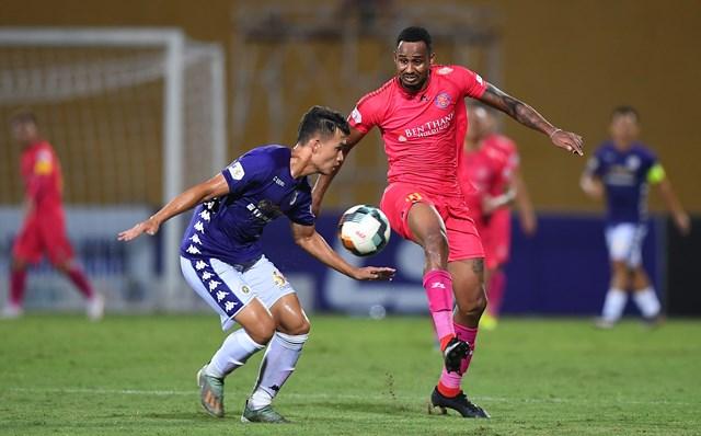 Một trận đấu của Sài Gòn FC.