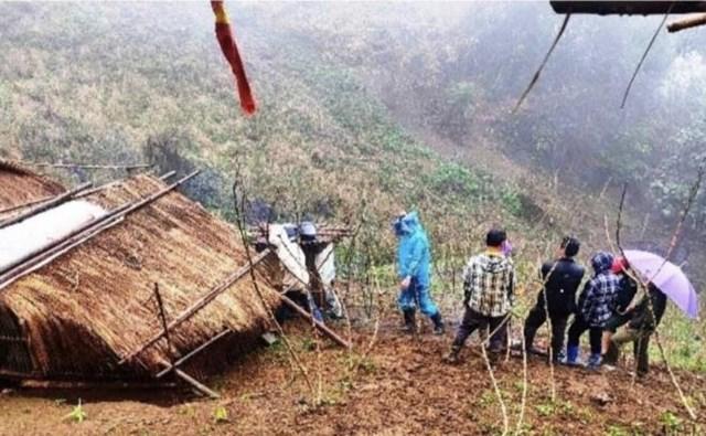 Hiện trường nơi xảy ra vụ việc - Ảnh: Công an huyện Phú Thiện