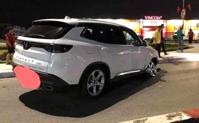 Mẫu Lux SA ghi nhận bị nạn tại Quảng Ninh.