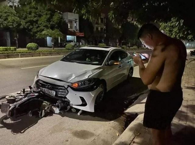 Hiện trường vụ tai nạn. Ảnh: Báo Giao thông.