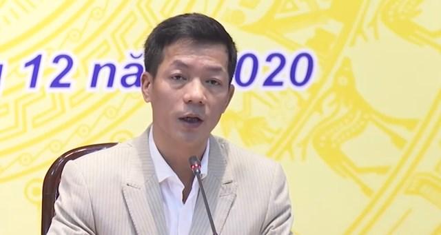 Vụ trưởng Vụ Thống kê thương mại và dịch vụ Nguyễn Việt Phong.