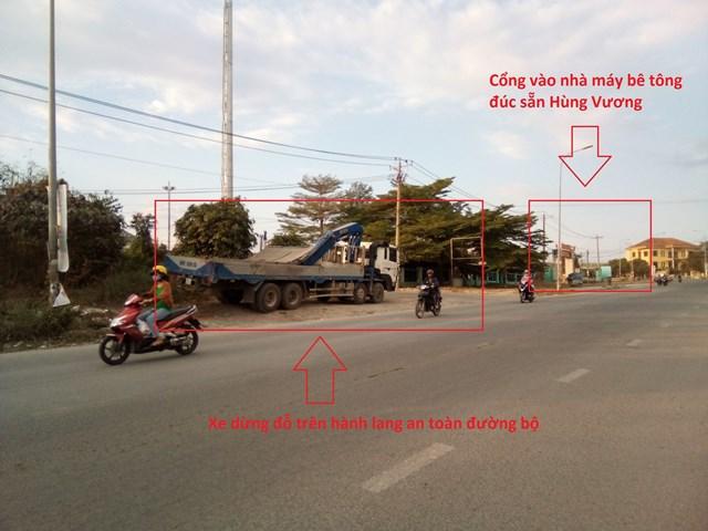 Vụ cống bê tông xếp lớp trên hành lang ở Đồng Nai: Tiềm ẩn nhiều nguy cơ gây tai nạn giao thông - Ảnh 2