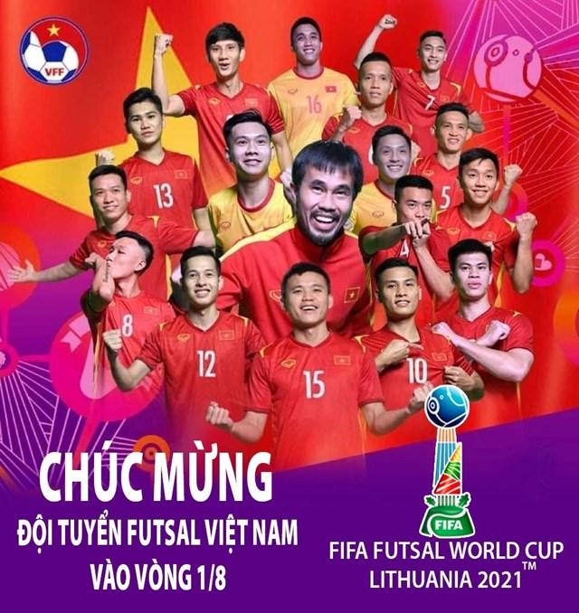 Tái lập kỳ tích World Cup, futsal Việt Nam nhận thưởng nóng 1 tỷ đồng - Ảnh 1