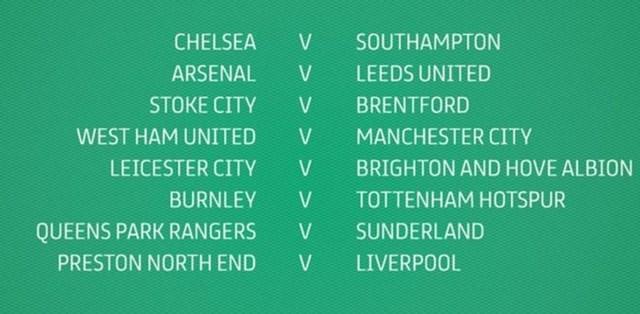 Ban tổ chức League Cup công bố các cặp đấu tại vòng 4 .