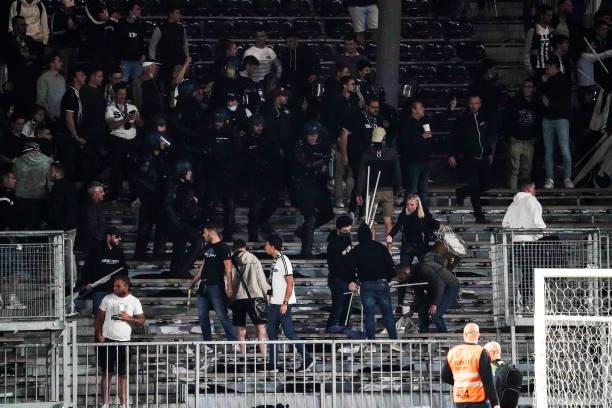 Khán giả giải Ligue 1 lần thứ 3 gây hỗn loạn từ khi Messi đến thi đấu - Ảnh 6