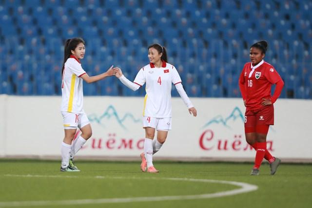 Tuyển nữ Việt Nam được đánh giá rất cao cho ngôi đầu bảng.