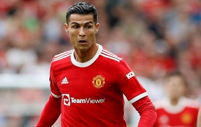 Ronaldo bị khóa chặt trong trận đấu này.