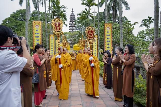 Nhiều hoạt động ý nghĩa tại Lễ cung rước và an vị tượng Phật Hoàng Trần Nhân Tông sẽ được diễn ra từ ngày 6 đến 20/12. Ảnh minh họa.
