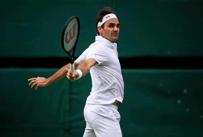 Federer thể hiện sự vượt trội trước Norrie.