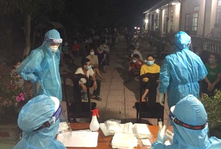 Như vậy, từ ngày 14/6 đến 21/6, tỉnh Nghệ An đã ghi nhận 31 ca nhiễm Covid-19. (Ảnh: Điền Bắc).