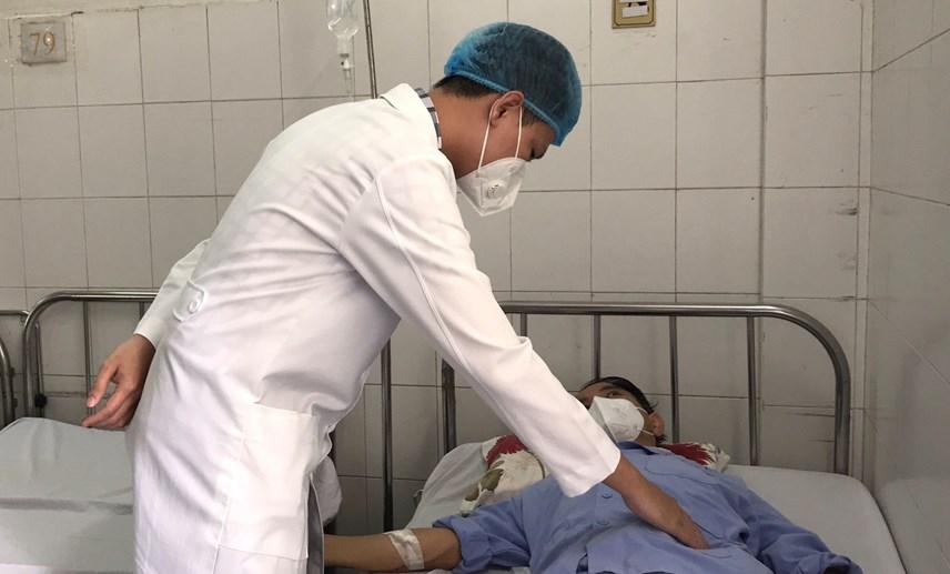 Tình trạng bệnh nhân hiện đã ổn định sau can thiệp.